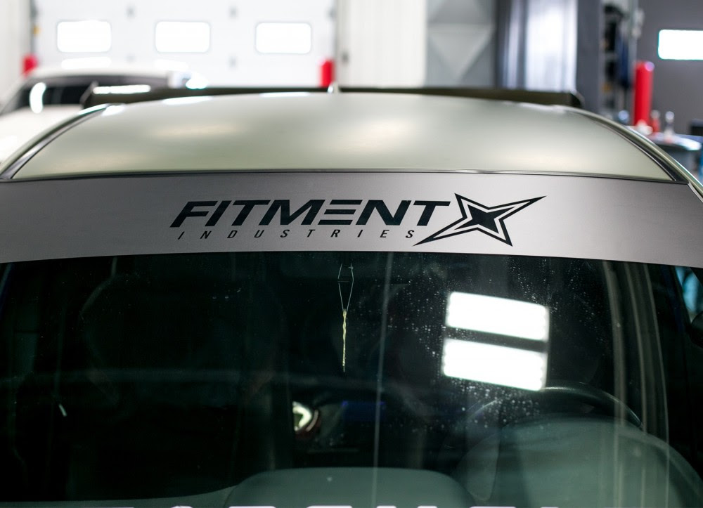 Fitment Industries Windshield Banner Fitment Industries