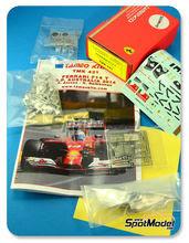 Maqueta de coche 1/43 Tameo Kits - Ferrari F14 T Banco Santander Nº 7, 14 - Fernando Alonso, Kimi Raikkonen - Gran Premio de Australia 2014 - maqueta de metal