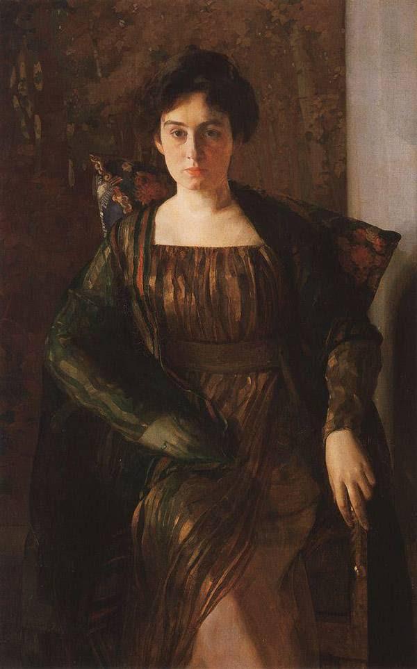Портрет Г.Л.Гиршман. 1910-1911