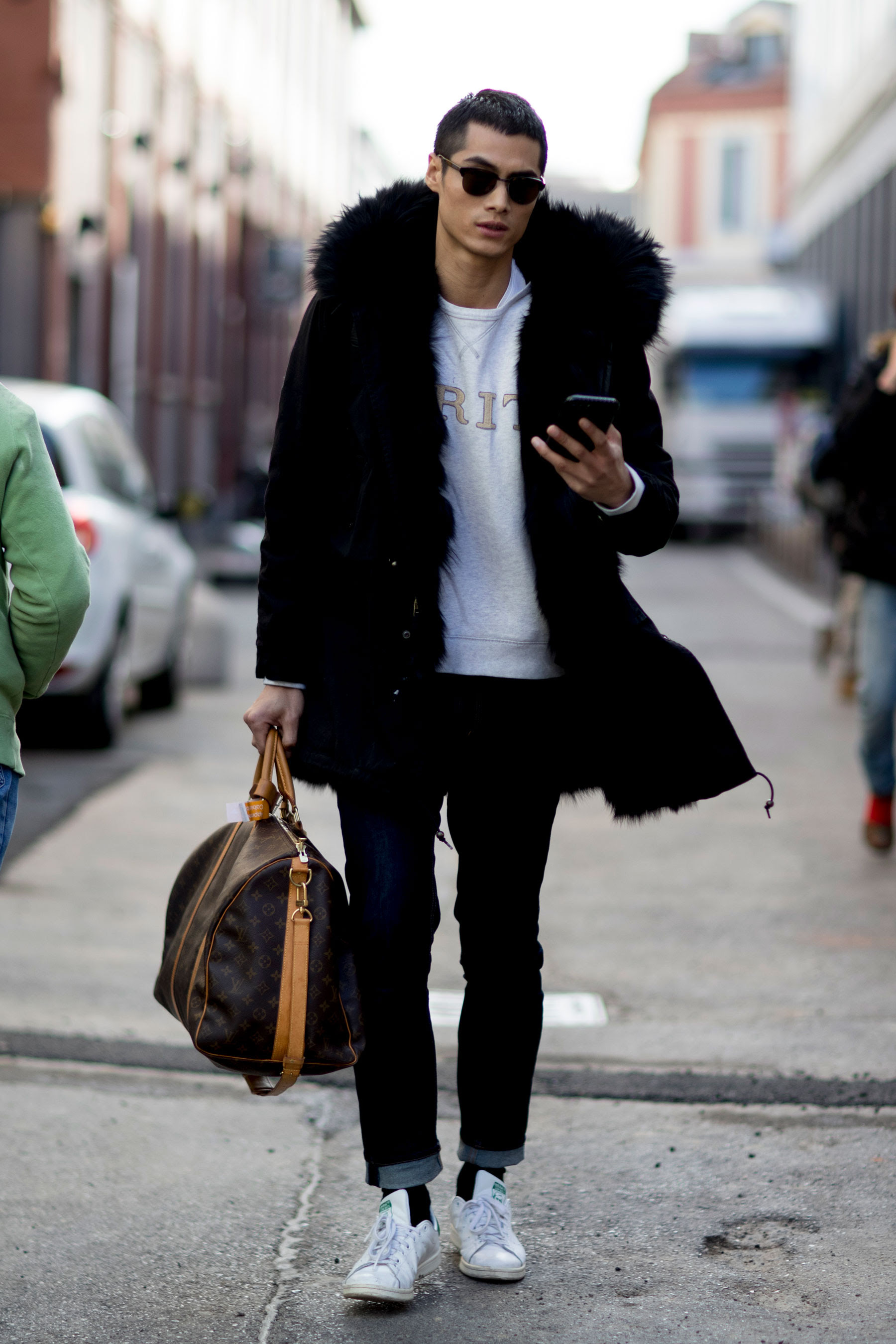 Street Style At Milan Men 39 S Fashion Week Fall Winter 2017