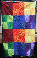 Dilly's quilt front