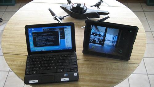 AR.drone Ad Hoc WiFi Network
