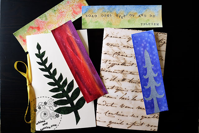 Easy Book And Bookmarks Making With Kids   Whims And Fancies