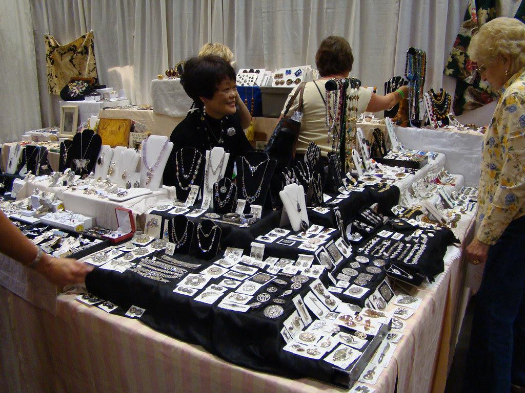DSC02774 Susan Christie Jewelry Booth