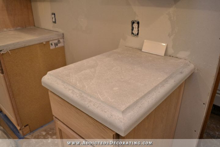 DIY concrete countertops 61