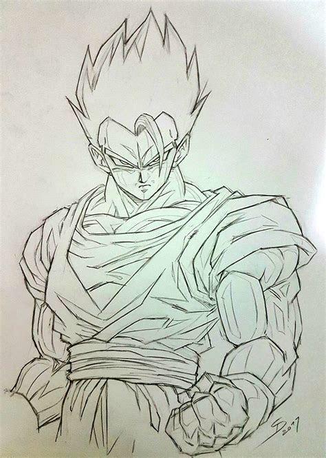 son gohan songokukakarot dragonball dbz drawings