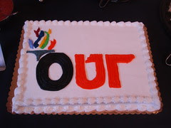 out cake
