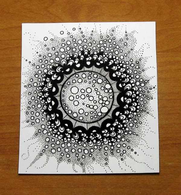 Absolutely Beautiful Zentangle patterns For Many Use (13)
