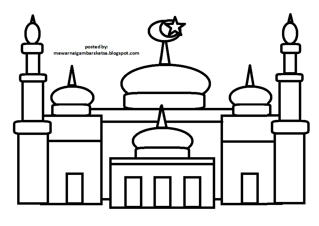 Mewarnai Gambar Mewarnai Gambar Sketsa Kartun Anak Muslimah 7 Auto