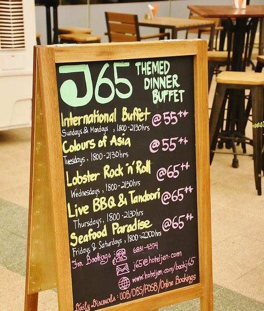 The Food Chapter | Singapore Blog | Food and Travel |: International Buffet @ J65, Hotel Jen Tanglin