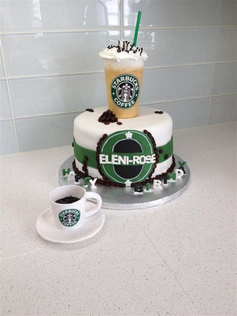Starbucks Lover Birthday Cake   cake by Sweet Cakes by