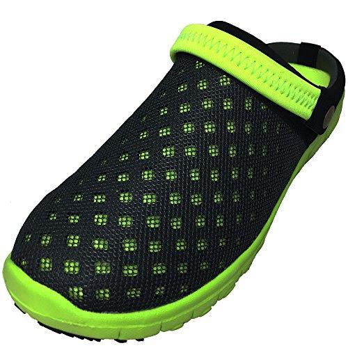 DECT(デクト) 70213-gy-255 メンズ 靴 超軽量 サボ サンダル リゾート カジュアル 通気性 クロッグ 軽い (25.5cm, グレー)