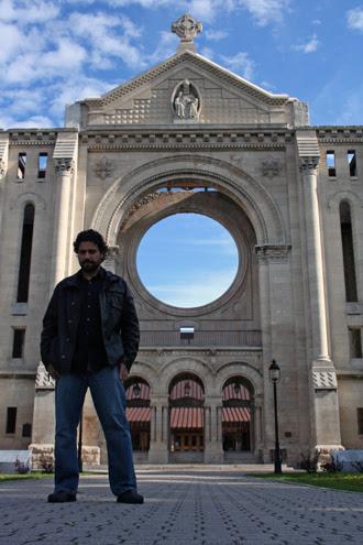 at the basilica