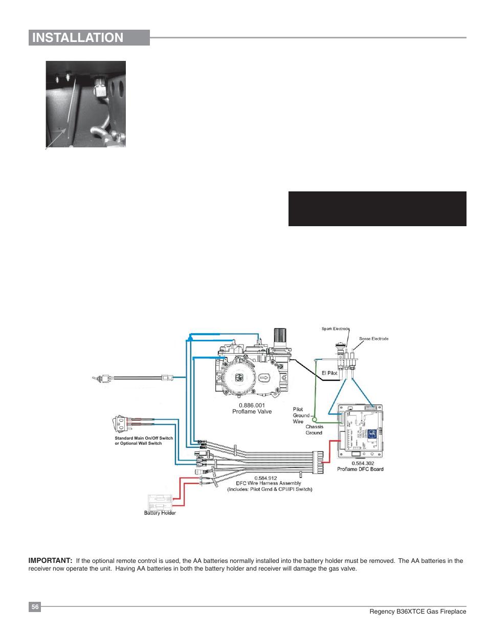 Gas Fireplace Wiring Diagram