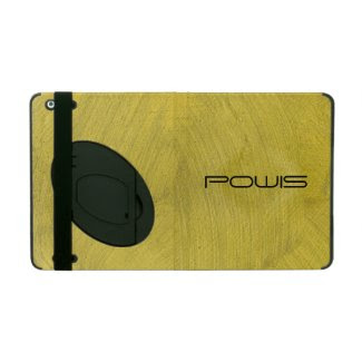 Brushed Gold iPad Cases