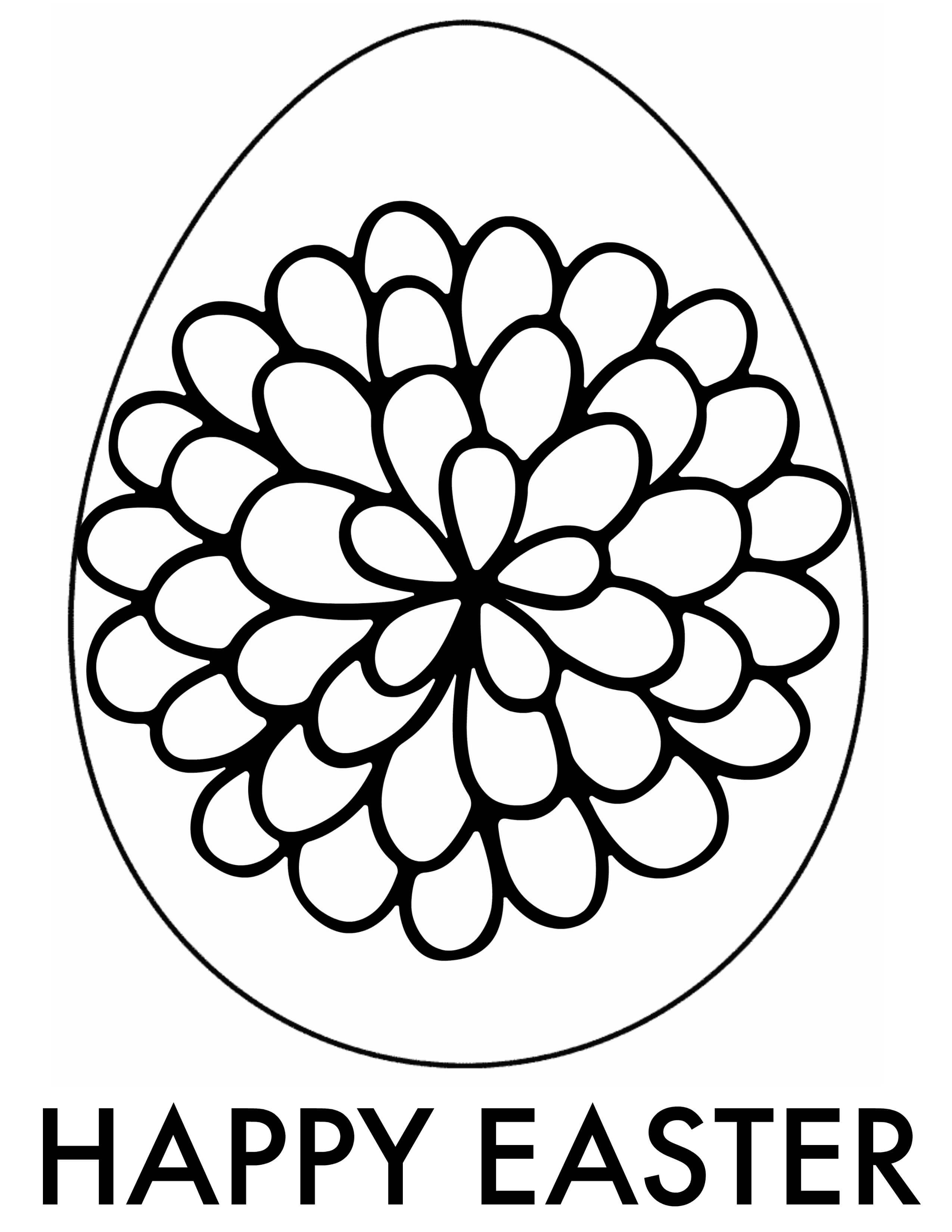 Easter Adult Coloring Pages   Free Printable Downloads