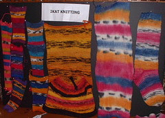 N. ikat knitting