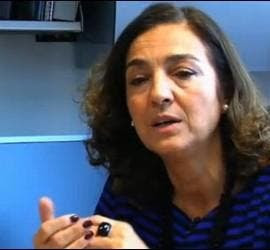 Carmen Vela, captura del video en Ciencia con Rubalcaba.