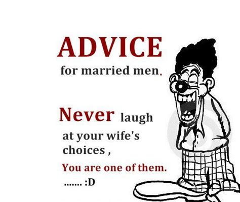 Funny Marriage Advice For Men   Good Morning Wishes,Good