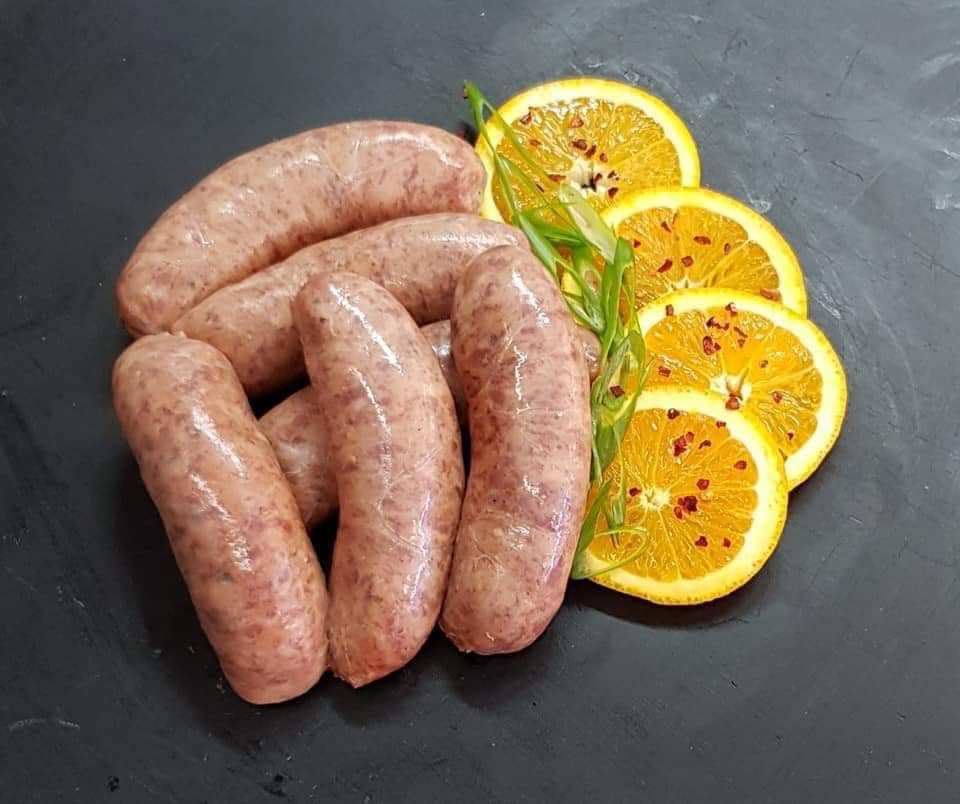 Artisan farm baked bread, gourmet sausages, home cooked ...