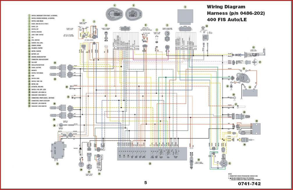 Free 2004 Arctic Cat 400 Wiring Diagram Atvconnection Com