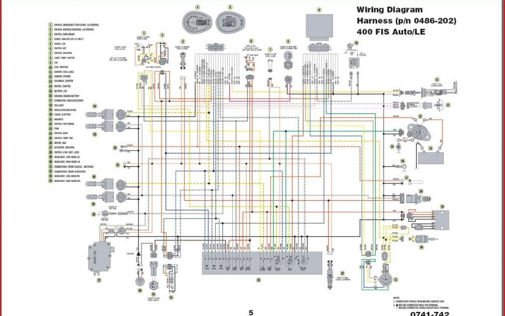 arctic cat thundercat wiring diagram arctic wiring diagrams