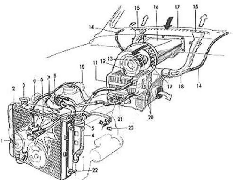 V4 Car Engine Diagram