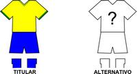 Uniforme Selección Choré de Fútbol