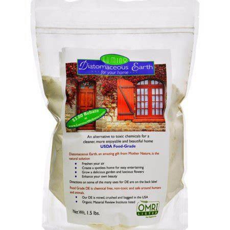 lumino home diatomaceous earth food grade home