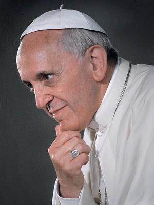 TERNURA E ESPERANÇA Jorge Mario Bergoglio, em foto recente.  Ele prepara seu primeiro Natal como papa Francisco (Foto: Stefano Spaziani)