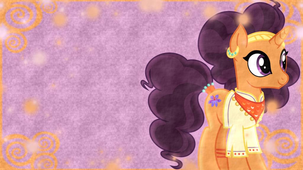 Saffron Masala Wallpaper by SailorTrekkie92