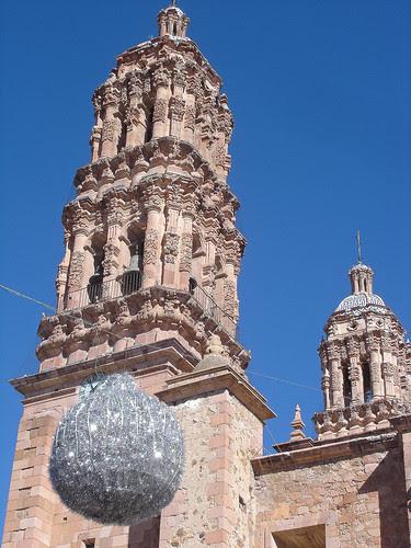 Zacatecas- Clochers de la cathédrale 3