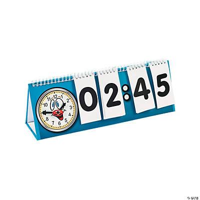 Telling Time Flip Chart Set