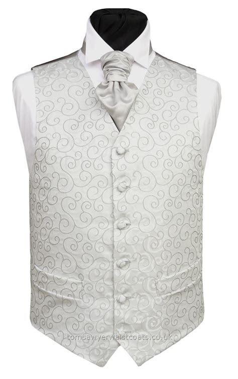SILVER RUMOURS WAISTCOAT   Wedding Waistcoats Mens