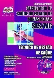 Apostila SES/MG (Minas Gerais) Técnico de Gestão de Saúde.