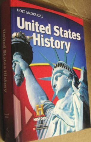 united states history student edition  holt mcdougal