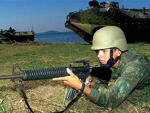 Treinamento da Marinha