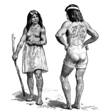 Tatuajes Borneo