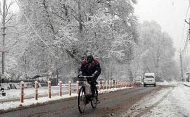 Image result for Cold wave: Srinagar records coldest night in 5 years,
