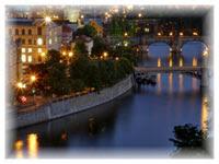 Vltava River in Prague