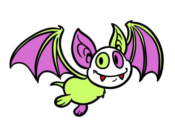 Dibujo De Murciélago Vampiro Pintado Por Jesicalzo En Dibujosnet