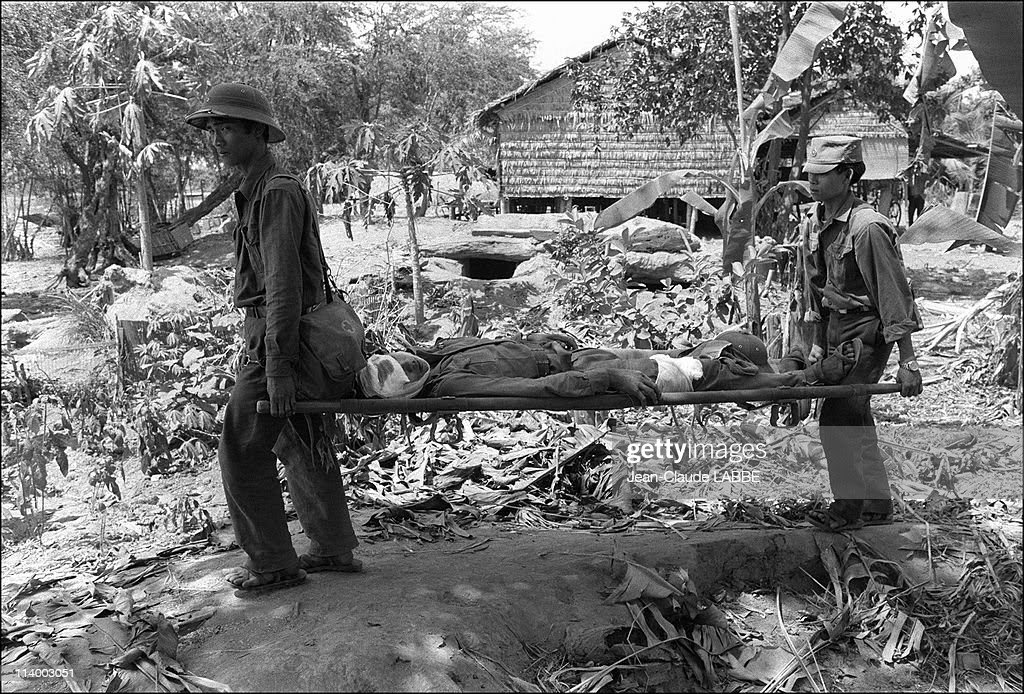 Vietnam-Cambodia war (1978-1979) in Cambodia-Vietnamese army.