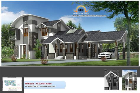 kerala  design homes simple house designs flat home