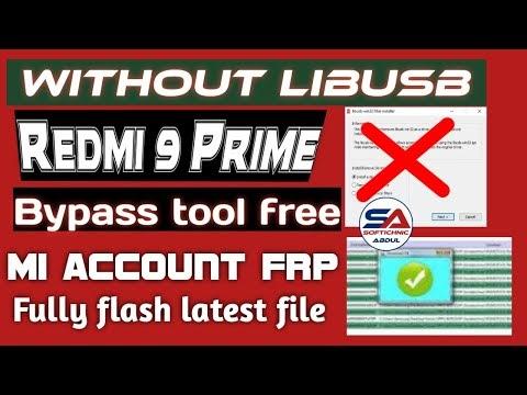 Redmi 9 prime-(lancelot) mi account free file | Redmi 9 prime mi account frp unlock by softichnic