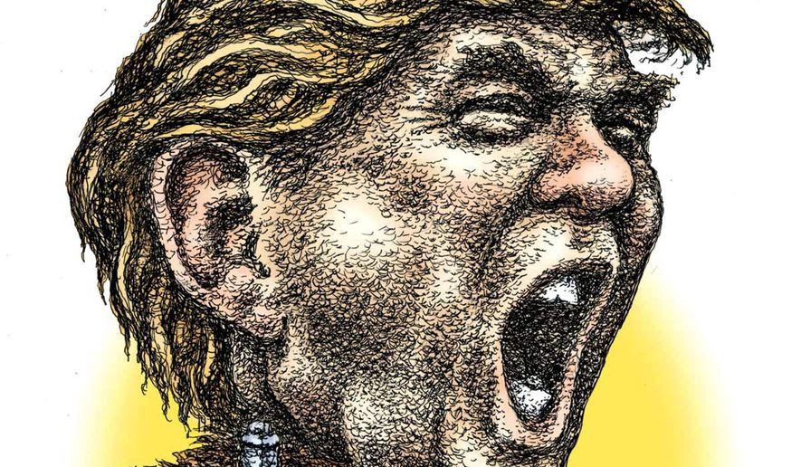 Illustration of Donald Trump by Kevin Kreneck/Tribune Content Agency