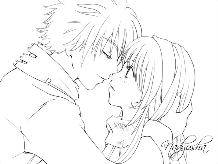 Couple Anime Drawing At Getdrawings Free Download