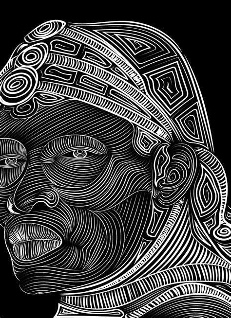vector art face drawing hd  wallpaper