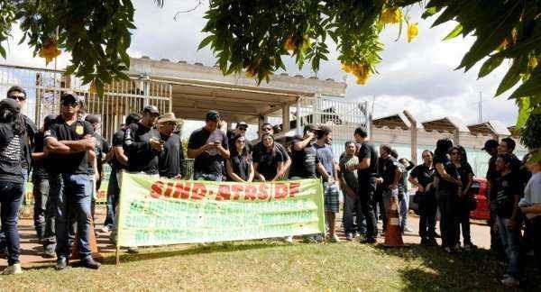Agentes do Caje começaram a greve na segunda-feira (21/5) (Carlos Vieira/CB/D.A Press)