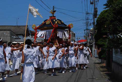 here comes the mikoshi