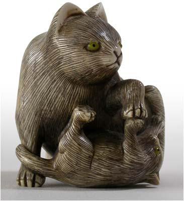 Cat Netsuke For Sale : Japanese Netsuke for Sale at Online Auction | Modern ... / Cats & kittens in australia.